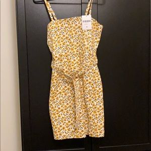 Forever 21 Sunflower Mini Dress